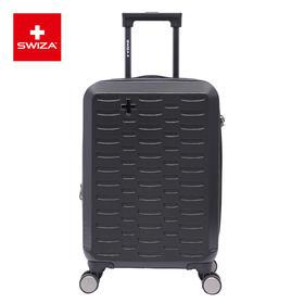 Swiza百年瑞士大容量旅行箱登机箱男女拉杆箱静音万向轮可扩展