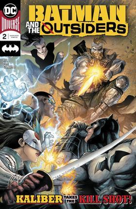 蝙蝠侠和局外人 Batman And The Outsiders