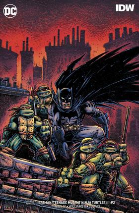 变体 蝙蝠侠 忍者神龟 Batman Teenage Mutant Ninja Turtles III