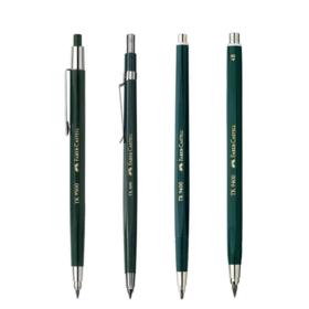 德国辉柏嘉绿杆全金属低重心自动铅笔TK9400 铜芯 工程绘图活动铅笔