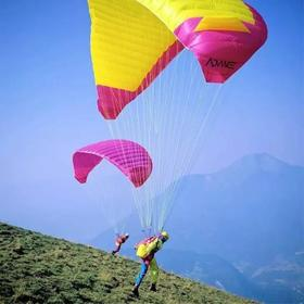 """【滑翔伞】自由行·重庆云篆山滑翔伞飞行体验,做一天""""鸟人""""!"""