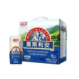 光明莫斯利安原味酸牛奶200mlx12