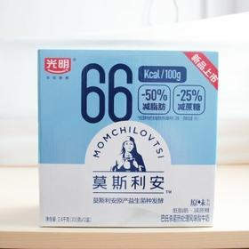 光明莫斯利安低脂减糖酸奶200gx12