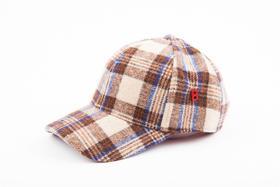 MY BOB 羊毛粗花呢棒球帽