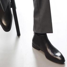 冬季防寒皮毛一体(加羊毛绒)切尔西靴