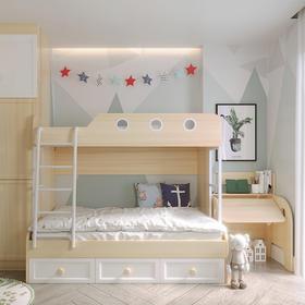 优沃功能房可量尺定制儿童升降学习桌儿童床卧室家具衣柜上下床