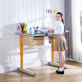 优沃儿童学习桌椅套装写字台可升降学生桌小学生写字桌儿童书桌
