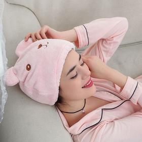 动物卡通干发帽  头发速干包头巾 可爱成人加厚吸水浴帽