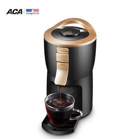 北美电器(ACA)咖啡机家用全自动迷你便携式现磨豆咖啡粉两用办公室桌面咖啡壶AC-C200