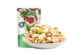 【京东】三只松鼠开心果100g/袋 进口加州坚果炒货每日坚果零食地方特产【休闲零食】
