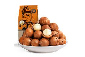 【京东】三只松鼠奶油味夏威夷果 坚果炒货孕妇坚果每日坚果干果零食160g/袋 新货上新【休闲零食】