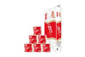 【京东】清风(APP)卷筒纸 几何系列 3层180克卫生纸巾*10卷【生活用品】