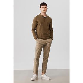【Polo让你的品位绅士化】秋季男款精梳棉长袖  Faric Lab POLO衫