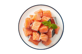 【京东】美威 智利三文鱼切块(大西洋鲑)380g BAP认证 儿童营养餐/宝宝辅食 海鲜水产【蛋肉熟食】