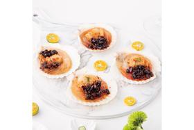 【京东】獐子岛 冷冻豆豉粉丝扇贝(MSC认证) 200g 6只 虾夷扇贝 烧烤食材 自营海鲜水产【蛋肉熟食】