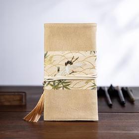 瑞鹤祥鸣·卷帘笔袋 | 有福气的随身好物