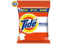【京东】汰渍 净白去渍洗衣粉5kg/袋【家庭清洁】