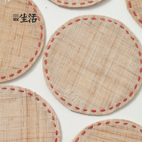 设计新传统 | 生活款 · 手工夏布壶杯垫
