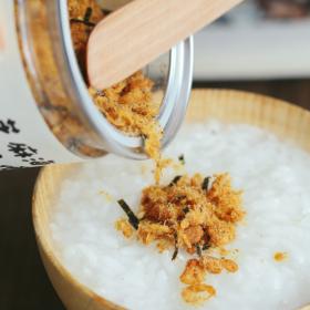 【原汁本味真肉松】台湾海苔芝麻肉松 2罐