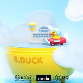 B.Duck小黄鸭职业系列扭扭音乐盲盒 可爱手办公仔 桌面摆件