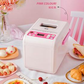 ACA面包机家用小型智能全自动揉面和面发酵烘焙蛋糕多功能早餐机