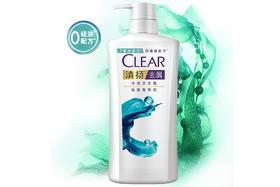 【京东】清扬(CLEAR)无硅油洗发水 去屑洗发露海藻菁萃型500g(新老包装随机发)(氨基酸洗发)【个护清洁】
