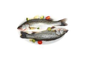 【京东】海名威 鲜冻海鲈鱼850g (2条装)袋装 海鲜水产【蛋肉熟食】