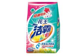 【京东】花王洁霸(ATTACK)亮彩无磷洗衣粉 护色配方 2.5kg【家庭清洁】
