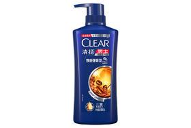 【京东】清扬(CLEAR)洗发水 男士去屑洗发露焕能强韧洗发露 咖啡香型 500g【个护清洁】