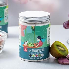 【养胃】纯藕粉 水果藕粉羹 懒人速食蔓越莓干 水果粉代餐 营养早餐粥