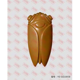 YD-DZ10058 汉八刀(蝉)立体圆雕图纸