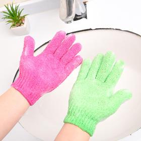 【网红】创意搓澡巾手套   沐浴糖果色搓泥巾 浴室手套式洗澡澡巾