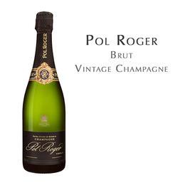 宝禄爵天然型年份香槟, 法国 香槟区AOC  Pol Roger Vintage, France Champagne AOC