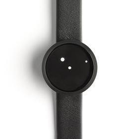 NAVA 调皮的点点创意概念腕表 | 黑盘白点情侣款(意大利)