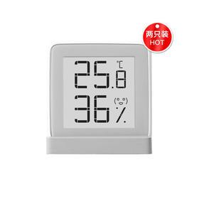 秒秒测温湿度计两只装