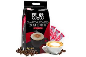 【京东】马来西亚进口 沃欧咖啡(wow coffee)3合1速溶白咖啡1600g/袋(16g×100条)炭烧风味【乳酒冲饮】