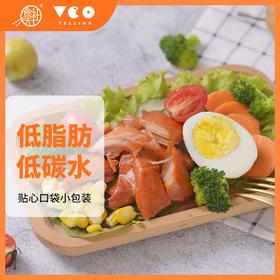 食光社  开袋即食轻食低脂高蛋白鸡肉零食小心鸡240g*1袋