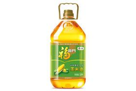 【京东】福临门 食用油 非转基因压榨玉米油3.5L 中粮出品【粮油副食】