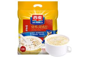【京东】西麦 燕麦片  营养早餐食品 牛奶好搭档  中老年营养 谷物代餐麦片700g 新老包装随机发货【乳酒冲饮】