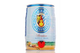 【京东】德拉克(Durlacher)小麦啤酒5L*1桶 桶装 德国原装进口 聚会分享装 泡沫丰富细腻 爽口回甘【乳酒冲饮】