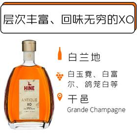 御鹿致美XO干邑白兰地 HINE Antique XO NV