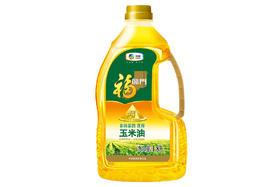 【京东】福临门 食用油 非转基因 压榨一级 黄金产地玉米胚芽油1.8L 中粮出品【粮油副食】