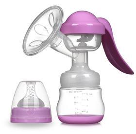 【母婴用品】新款婴儿手动式吸奶器防回流 孕妇便携式集奶器花瓣按摩护吸奶瓶