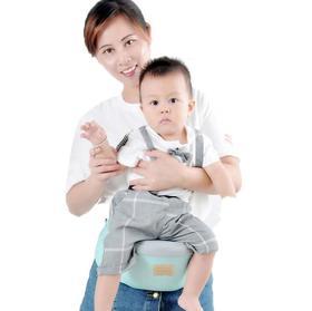 【母婴用品】婴儿腰凳多功能宝宝抱凳抱婴背带透气网布坐抱带收纳前抱式单凳
