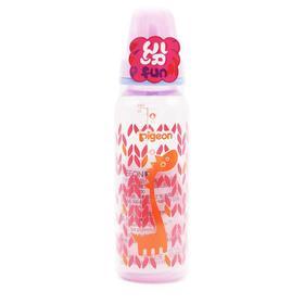 【婴儿用品】贝亲婴儿标准口径PP塑料彩绘奶瓶新生儿宝宝标口耐摔奶瓶240ml