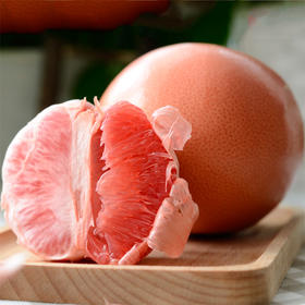 [红心西柚 下单后3-6天发货]果粒饱满 味酸带苦 六个装(净重4.8斤起)
