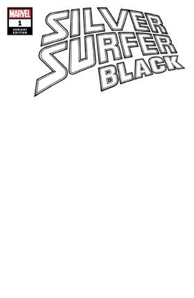 变体 银影侠 Silver Surfer Black