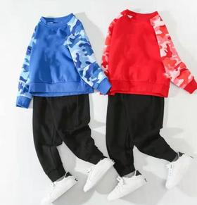 【童装】儿童卫衣两件套