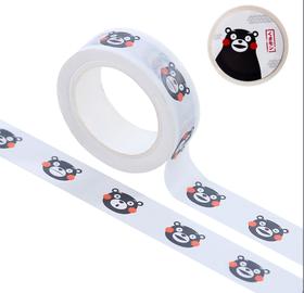 熊本熊官方周边 和风胶带6款整卷15mm