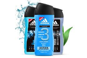 【京东】阿迪达斯 Adidas 男士沐浴套装(冰点250ml+激情250ml+运动后舒缓250ml)【个护清洁】